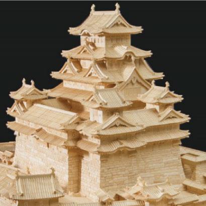 Himeji Castle (The world's largest ivory sculpture)