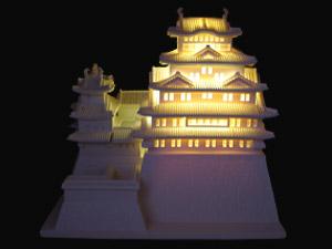 """national treasure on the World Heritage List """"Himeji Castle"""" Figure"""