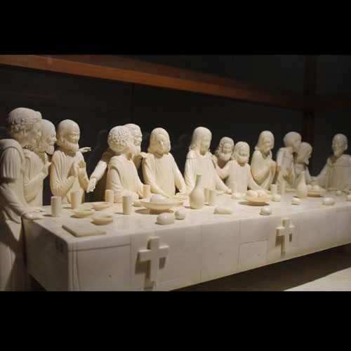 Ivory Sculpture of The Last Supper