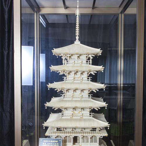 象牙雕刻法隆寺