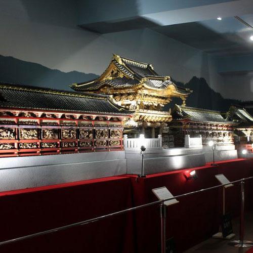 日光东照宮神殿模型