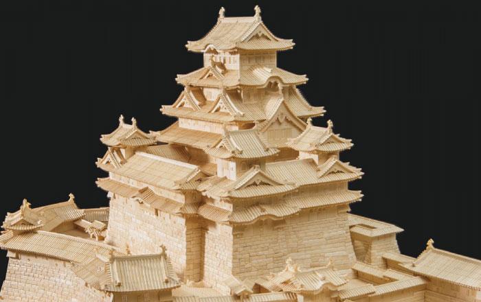 世界最大象牙雕刻姬路城